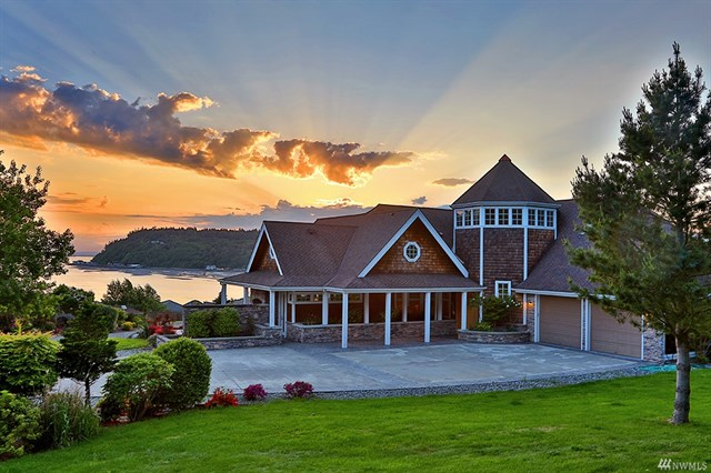 Million Dollar Home, Clinton, Whidbey Island